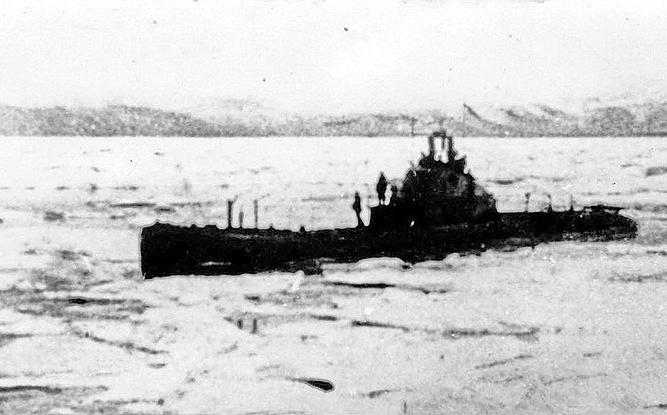 Героизъм и малодушие на подводница Щ-423, първата, която преодоля Северния морски път